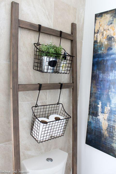 12 Bathroom Shelf Ideas Best Bathroom Shelving Ideas