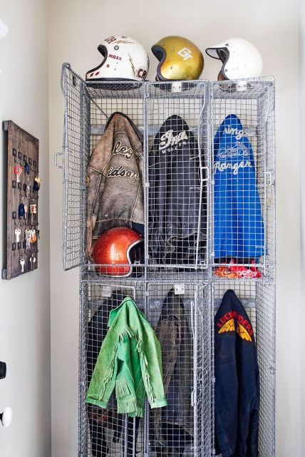 locker attic storage ideas