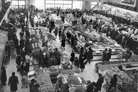 grocery stores 50 years ago   competition