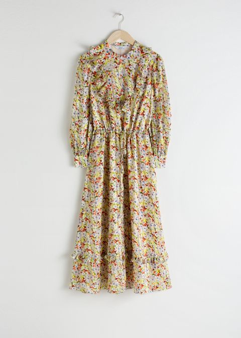 b48a778d9f Kate Middleton wears & Other Stories floral midi dress
