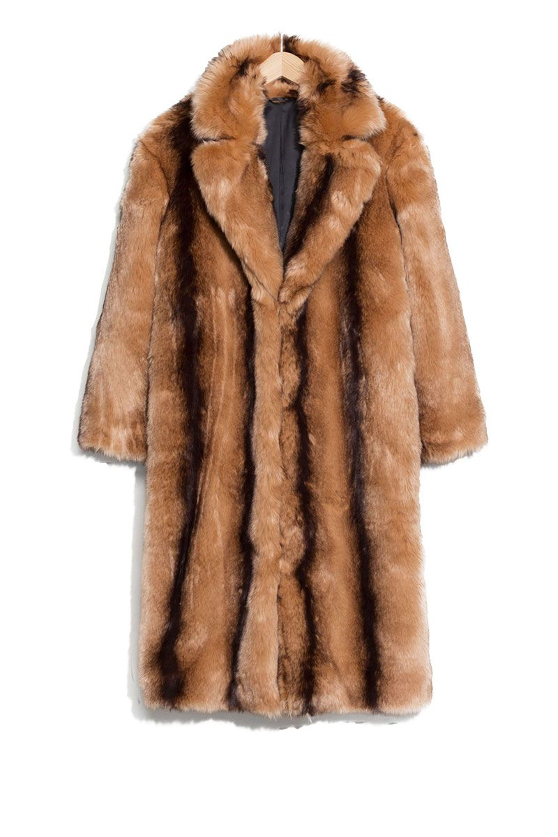 faux fur coat - faux fur jacket