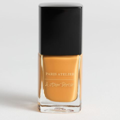 & Other Stories Yellow Nail Polish