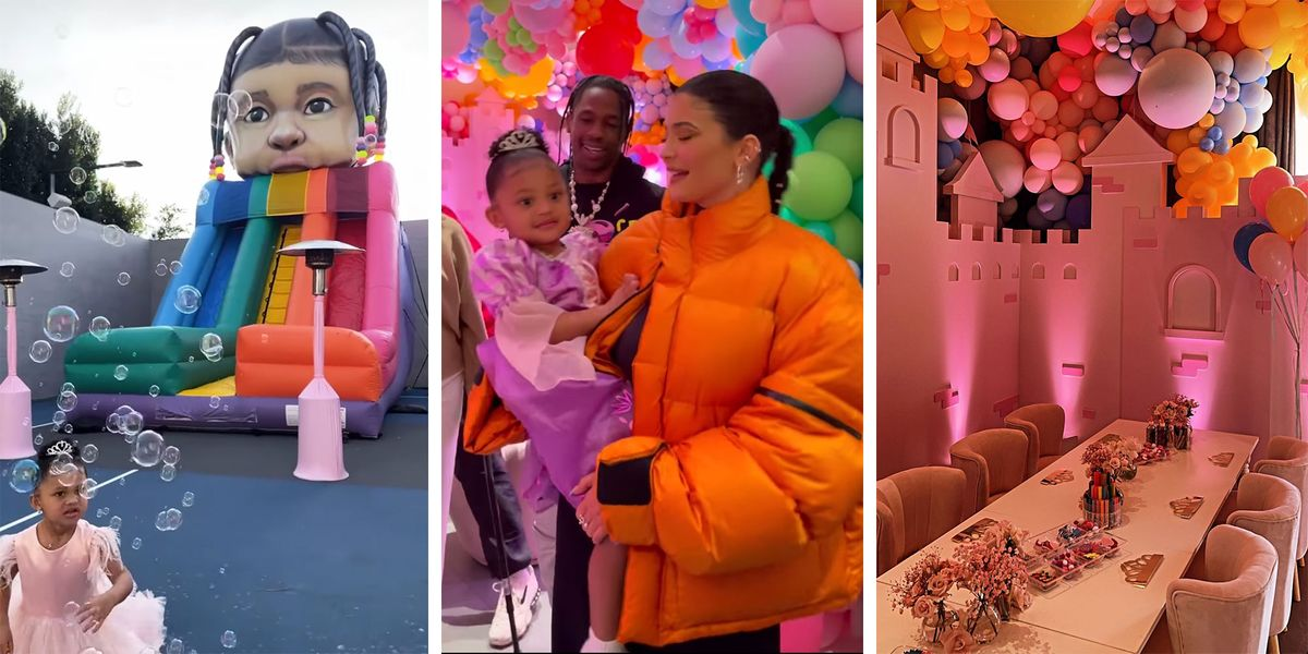 Kylie Jenner Ignored LA's COVID Gathering Ban and Threw Stormi a Princess-Themed 3rd Birthday Party