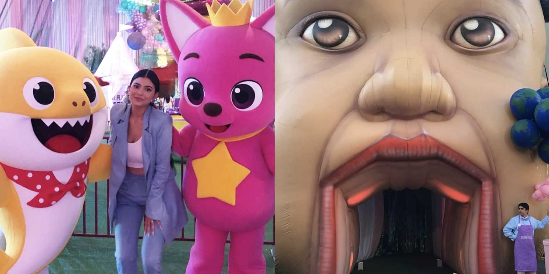 Kylie Jenner Built Stormi An Entire Theme Park To Celebrate Her First Birthday Party