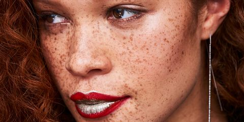 Face, Lip, Nose, Hair, Skin, Eyebrow, Close-up, Cheek, Head, Chin,