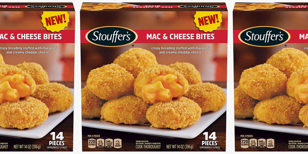 Stouffer's New Mac & Cheese Bites Are The Snack of Our Cheesy Dreams