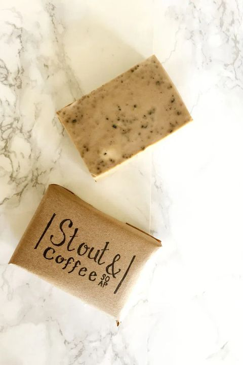stout and coffee soap