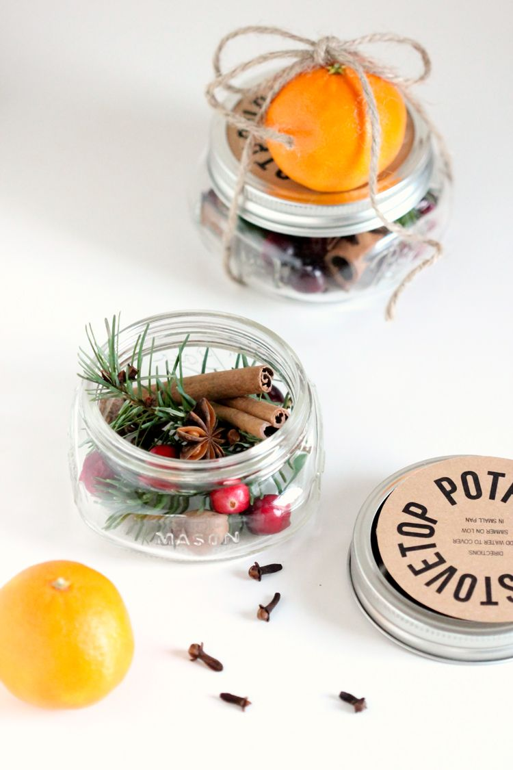 Christmas simmering potpourri gift ideas
