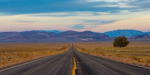 Road, Mountainous landforms, Natural landscape, Nature, Sky, Asphalt, Highland, Highway, Mountain, Natural environment,