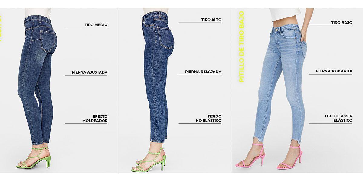 Venta Tallas Bershka Mujer Pantalon En Stock