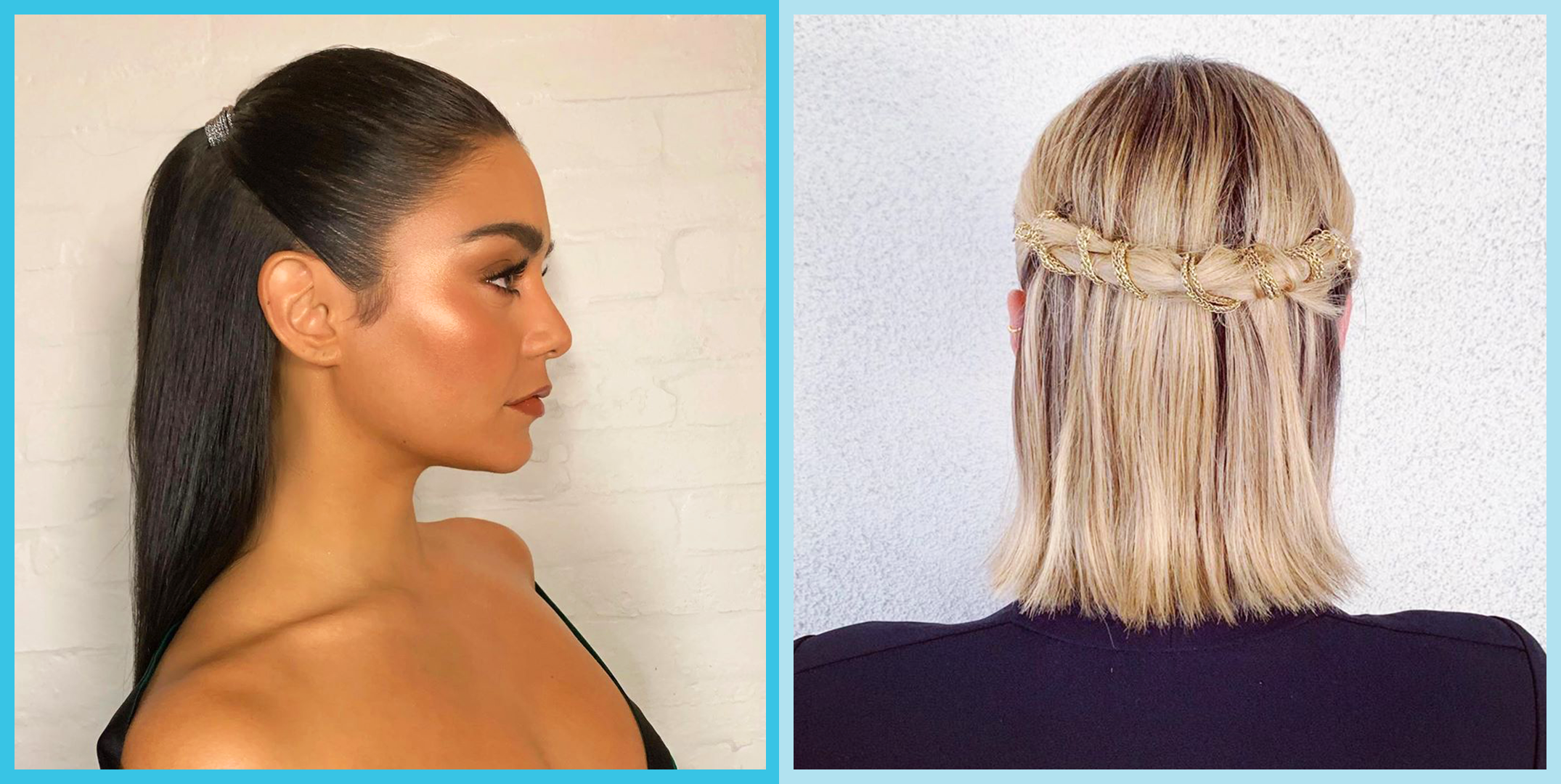 20 Straight Hairstyles And Updo Ideas