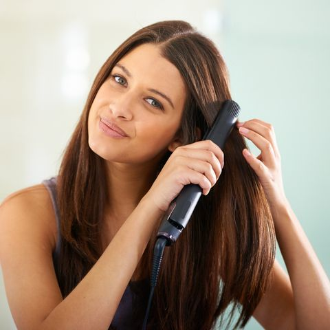 hair styling tips   how to straighten hair