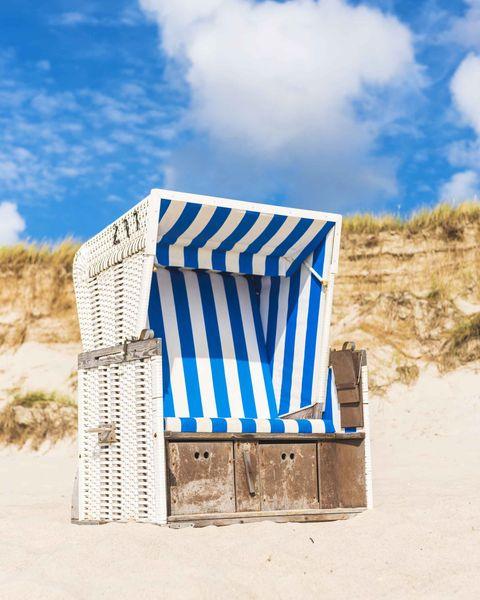 strandkorb beach chair
