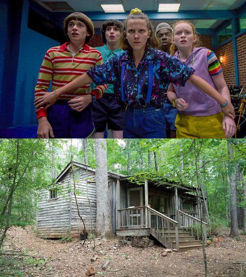 La cabaña de Jim Hopper en 'Stranger Things'