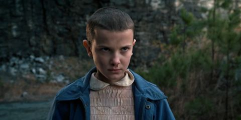 this stranger things cover reveals eleven s surprising new hairstyle