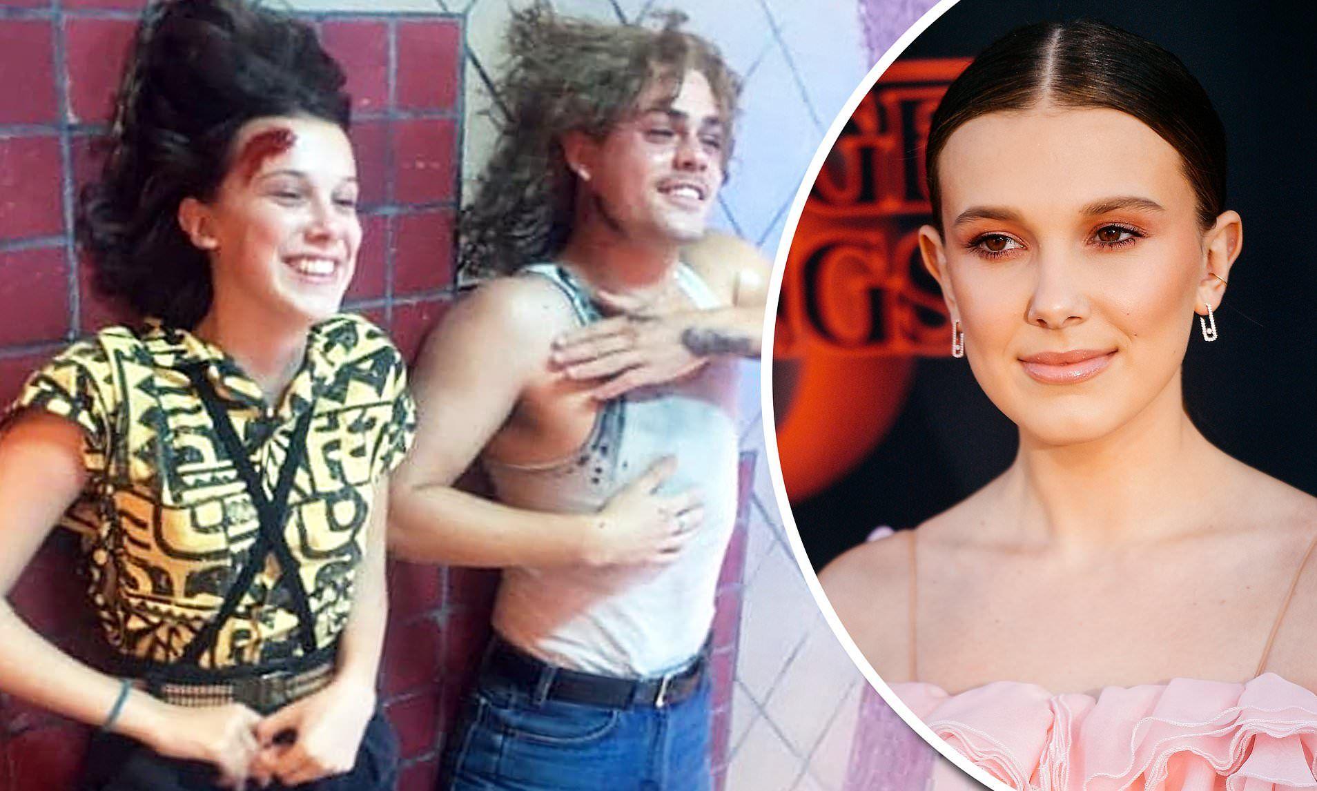 'Stranger Things 3', Millie Bobby homenajea a Dacre Montgomery