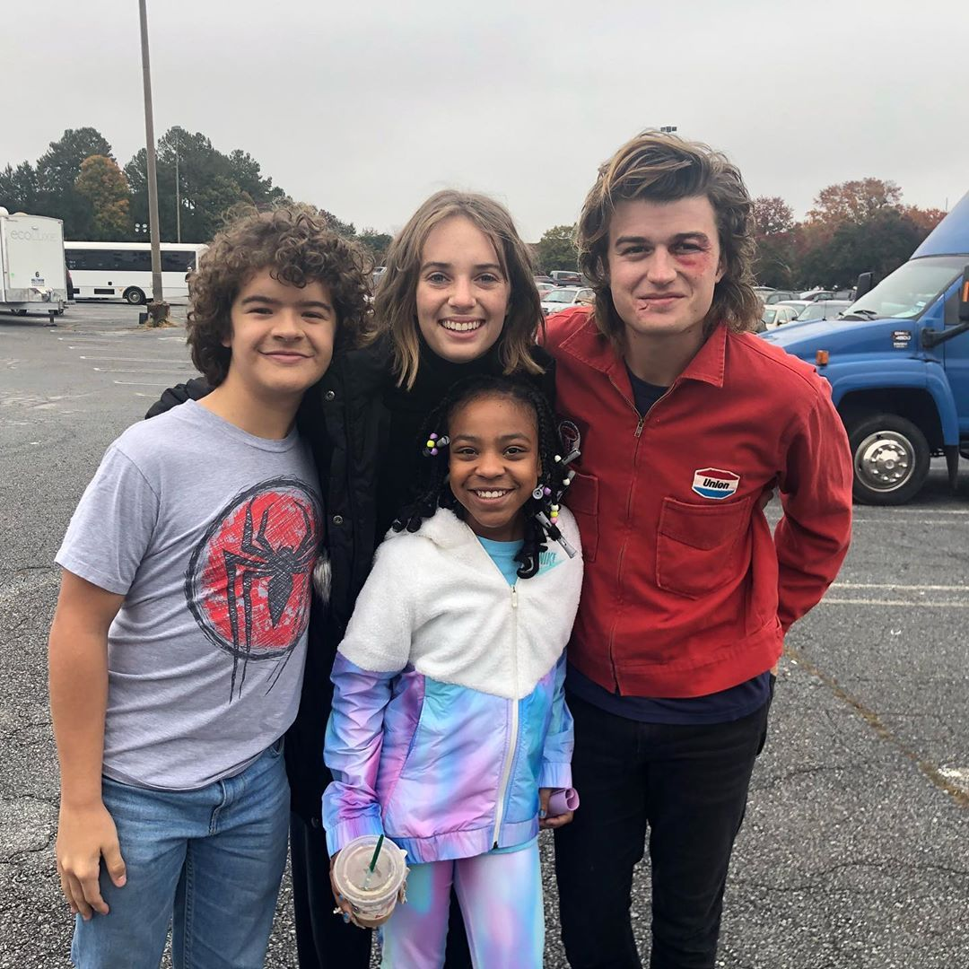 Netflix's Stranger Things' best behind-the-scenes pictures from season 3