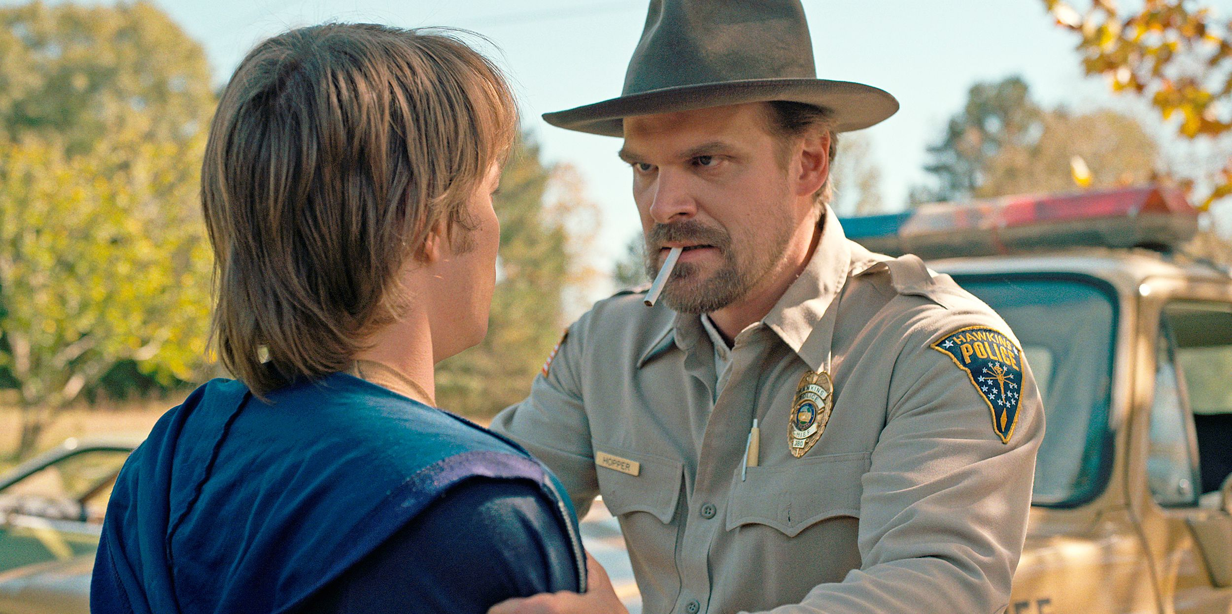 David Harbour, stranger things, Jim Hopper, stranger things 2, policia, comisario, sherrif, will, steve, instagram, parecido, parecido razonable, redes sociales