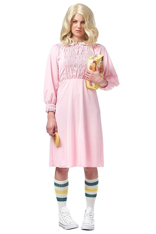 stranger things eleven '80s halloween costume