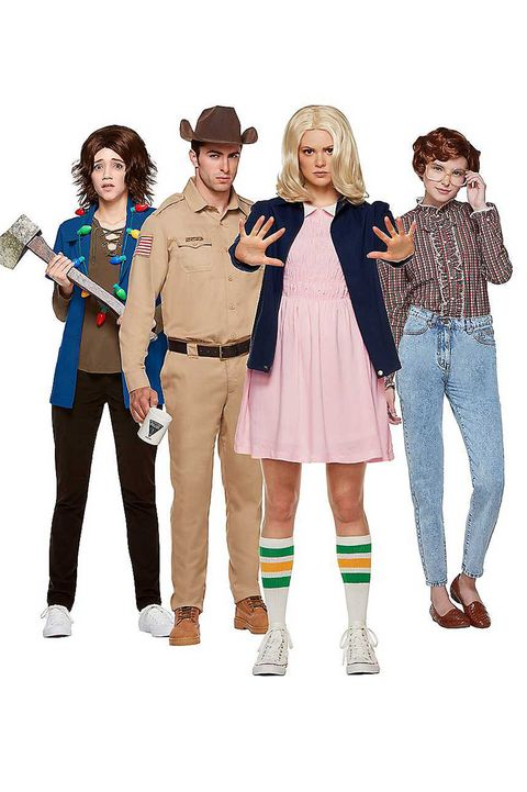 stranger things group halloween costumes