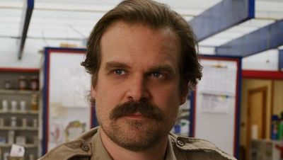 David Harbour as Jim Hopper in Stranger Things season 3