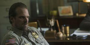Jim Hopper (David Harbour) in Stranger Things