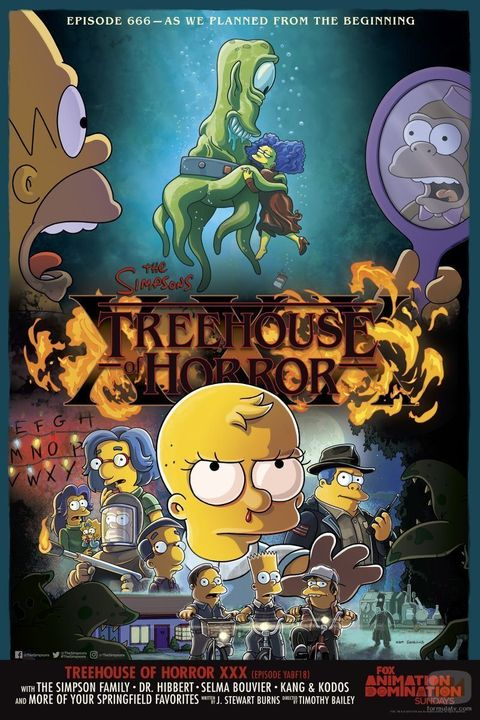 Stranger Things Los Simpson