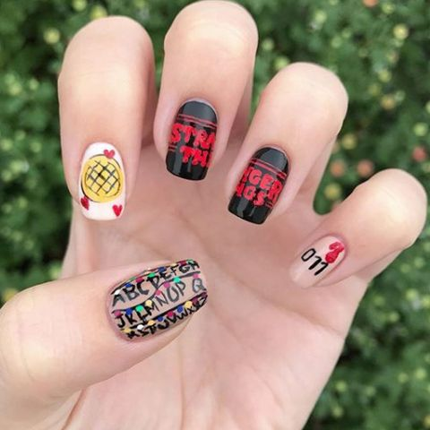 Best nails of 2017 nail polish ideas nail art nails prinsesfo Image collections