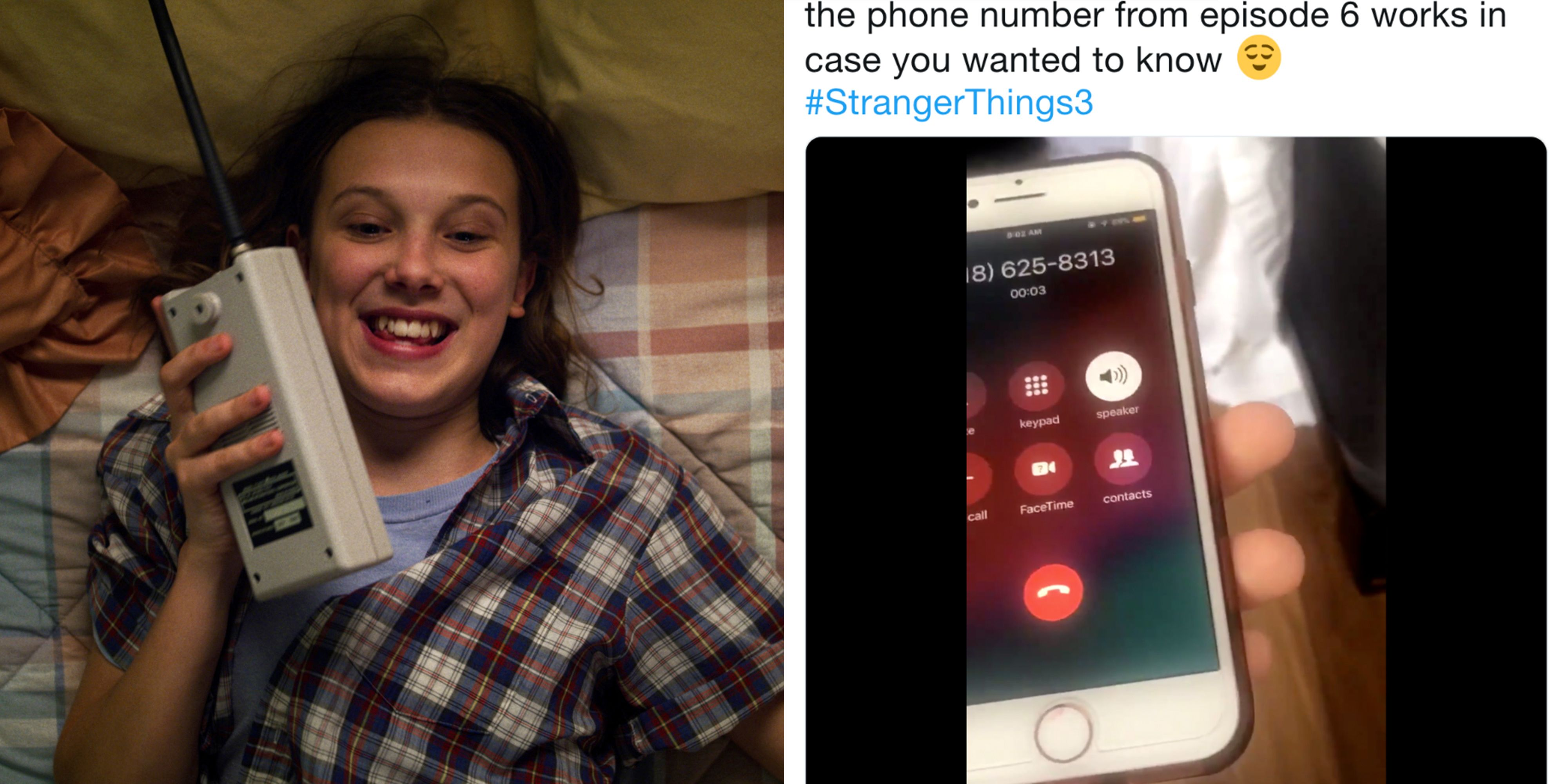There's a Stranger Things 3 Easter Egg & It's a Real Phone Number