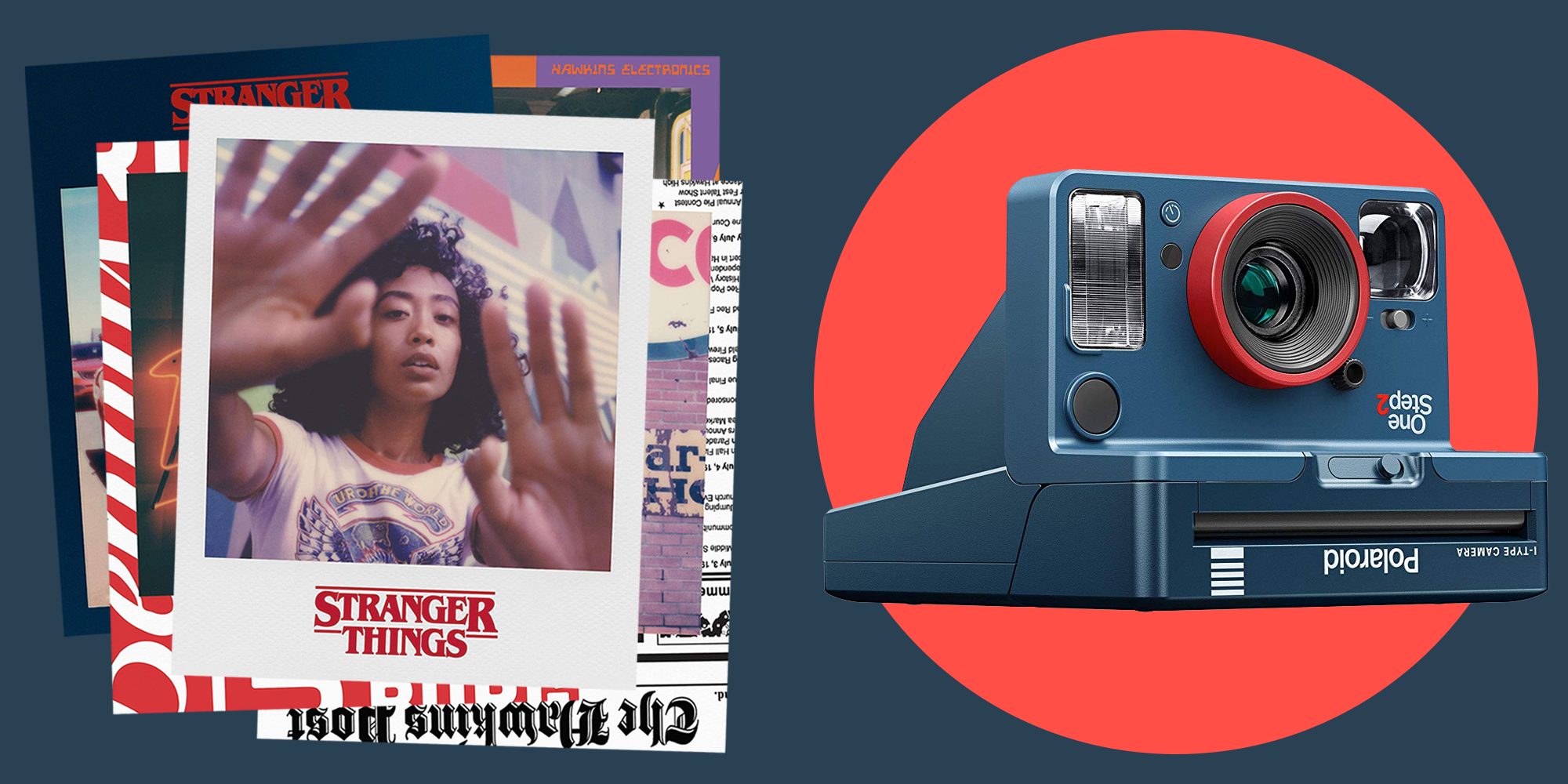 Polaroid and Stranger Things Released the Ultimate Throwback Instant Camera