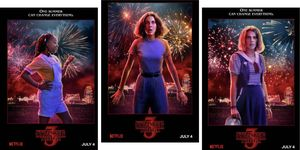 Stranger Things season 3 posters introduce new characters