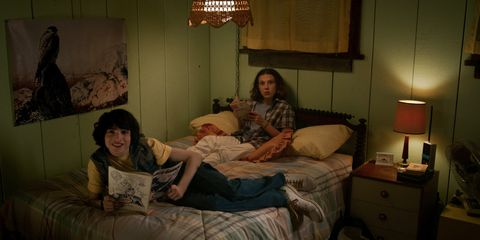 Mileven - Eleven and Mike in Stranger Things 3