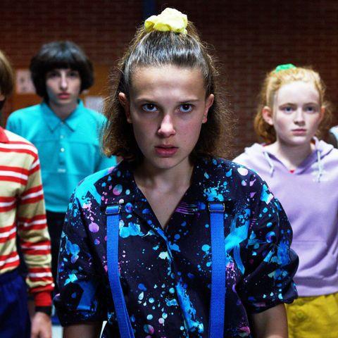Stranger Things, Season 3, Noah Schnapp, Sadie Sink, Millie Bobby Brown, Finn Wolfhard, Caleb McLaughlin,