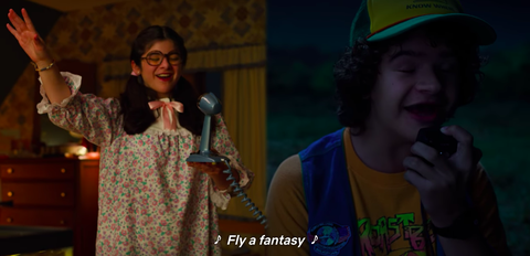Stranger Things 3 Dustin and Suzie