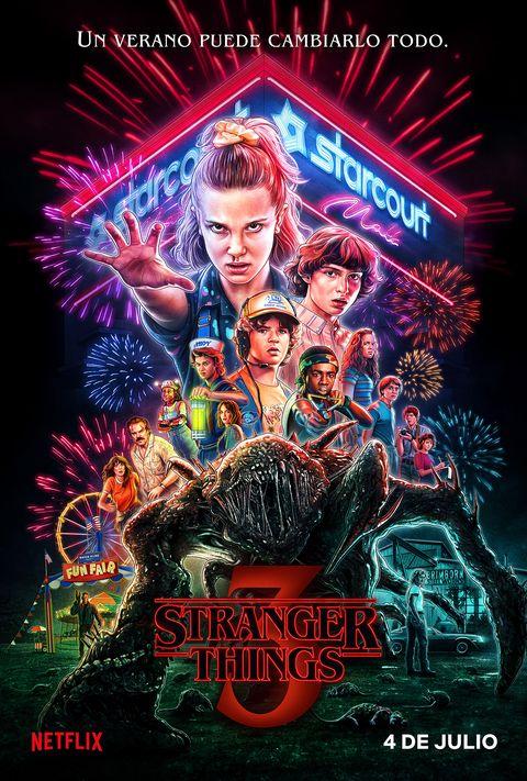 Stranger Things Temporada 3 poster nuevo monstruo