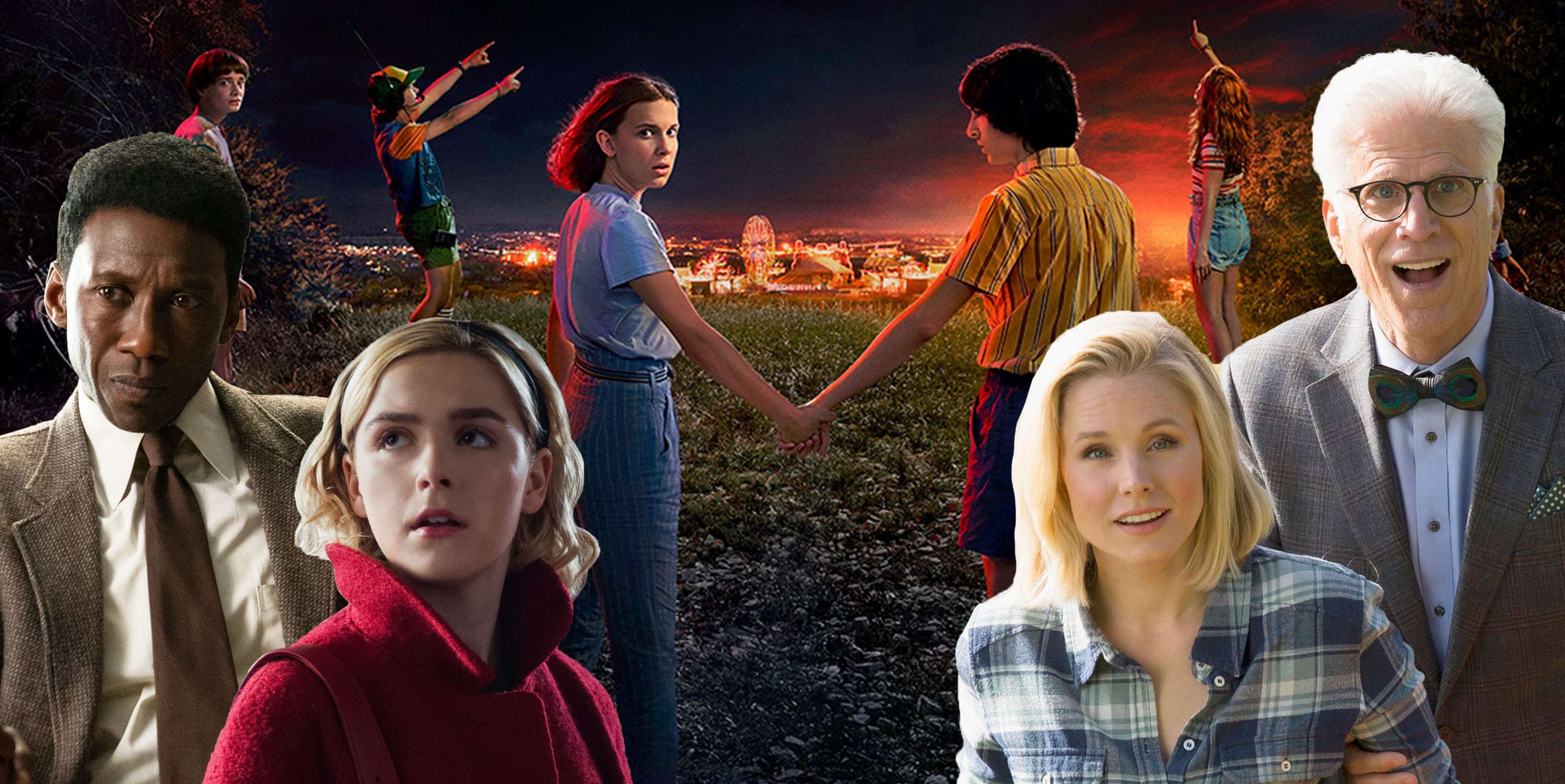 Stranger Things 3, True Detective, Chilling Adventures of Sabrina, The Good Place