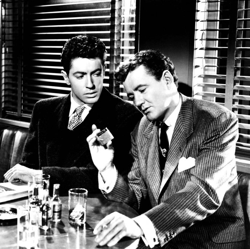 Strangers on a Train (1951) Alfred Hitchcock directs this tense and suspenseful adaptation of Patricia Highsmith's novel, in which two men meet on a train and agree to kill each other's wives—at least that's what one of the men thinks they've agreed to do.