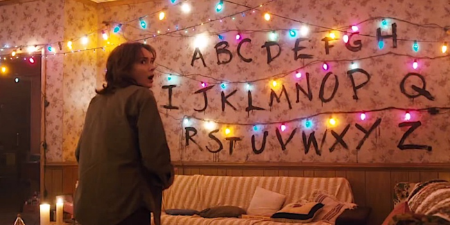 Stranger Things Christmas Lights.Here S How You Can Have Your Own Stranger Things Inspired Alphabet Wall