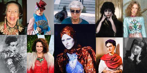 Fashion, Eyewear, Glasses, Headgear, Collage, Turban, Art, Fashion design, Fashion accessory, Photography,
