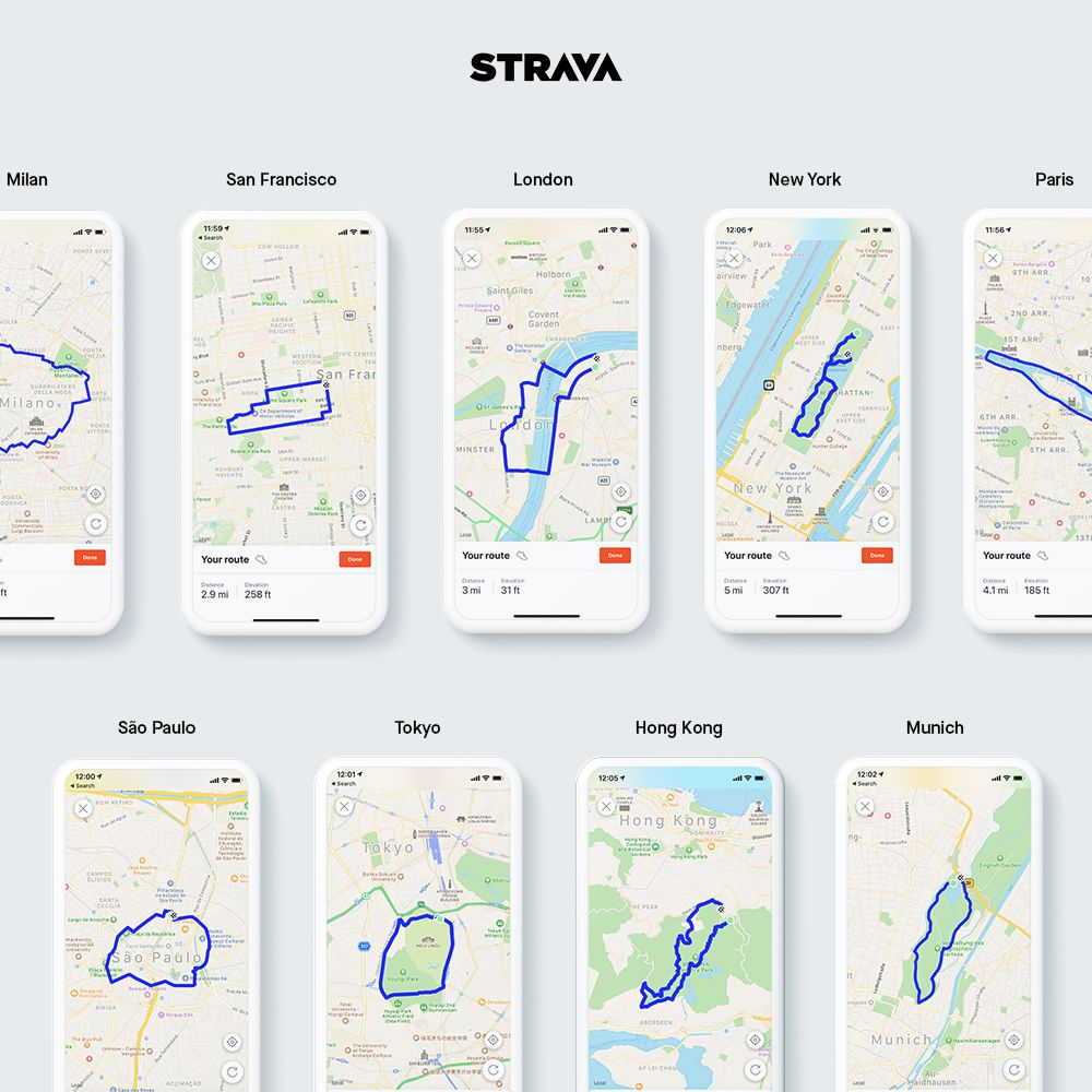 Strava's New App Makes Building Safe Routes Easy