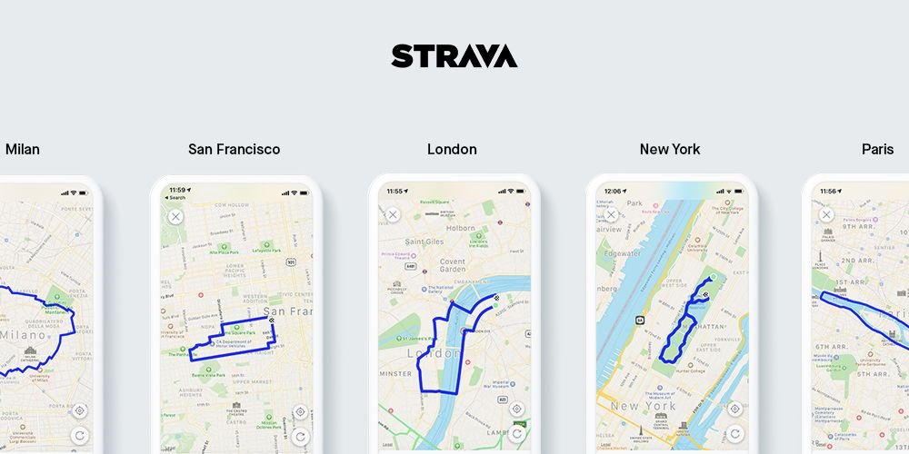 Stravas Route Builder for Mobile