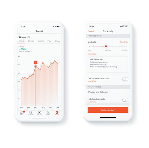 strava announce new changes