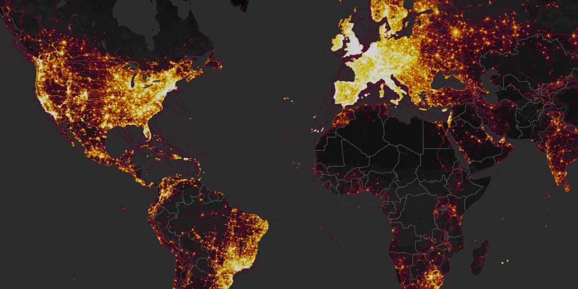 Strava Global Heat Map Pentagon Severely Restricts Fitness Trackers After Strava Heatmap