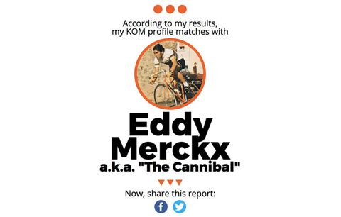 strava add on screen shot eddy merckx