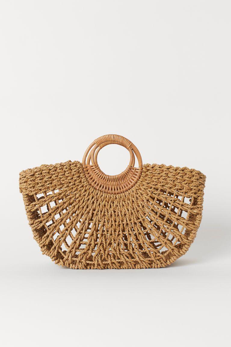 H&M straw bag