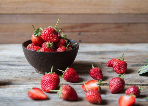 strawberries keto