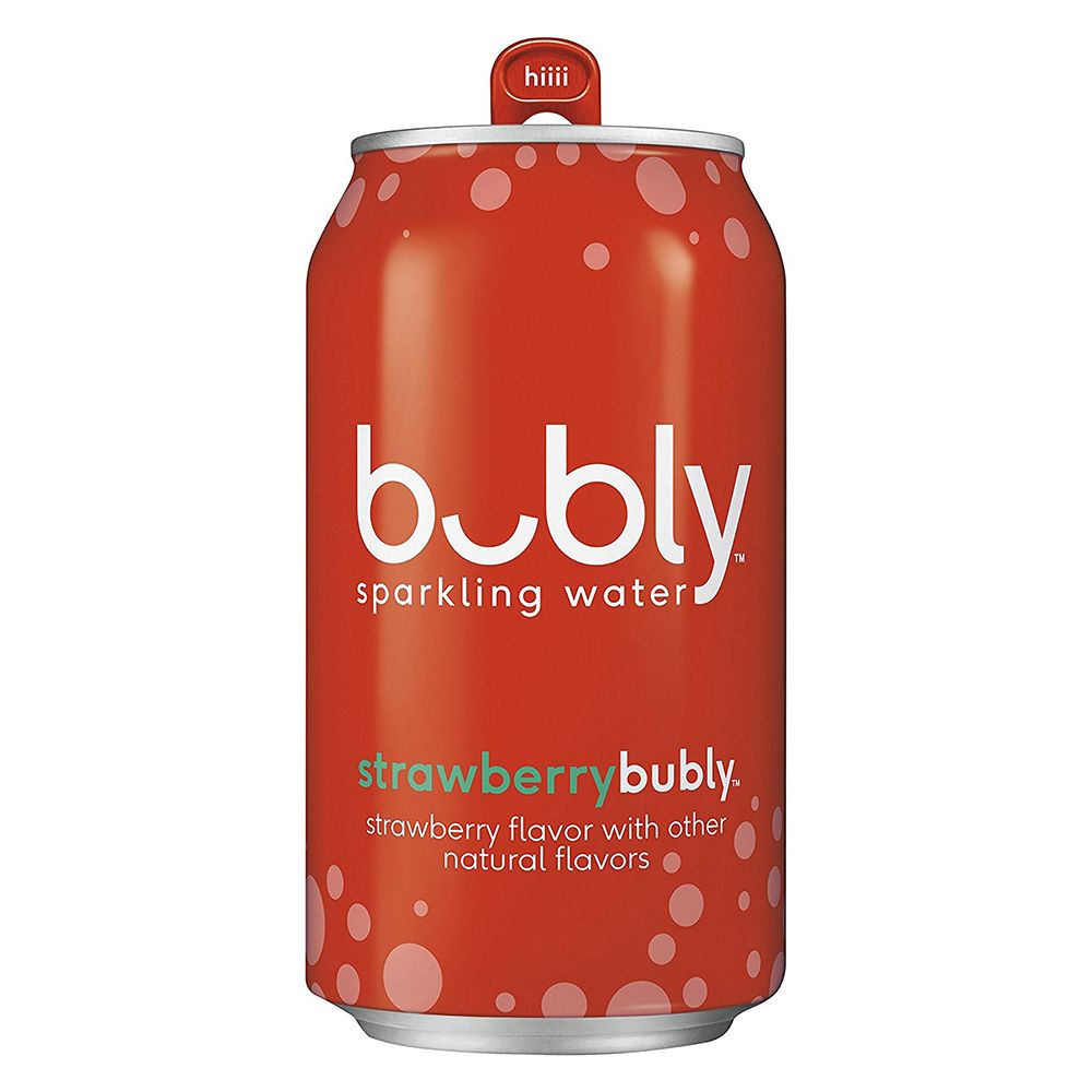 bubly strawberry sparkling water