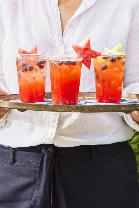 strawberry lemonade punch