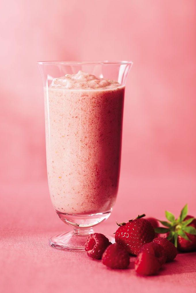 Strawberry-Raspberry Smoothie