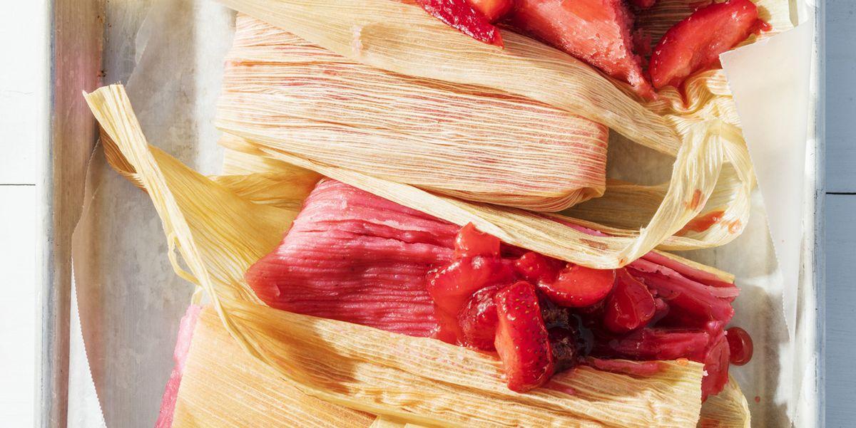 strawberry tamales recipe    strawberry tamales